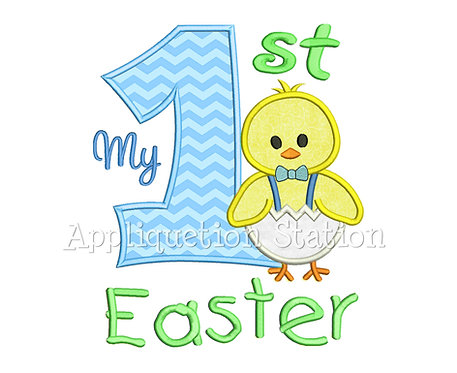 My 1st Easter Boy Chick