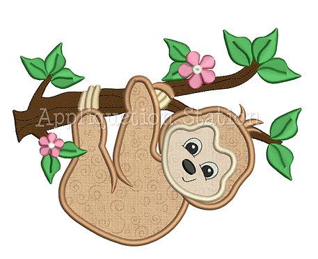 Zoo Baby Sloth Girl