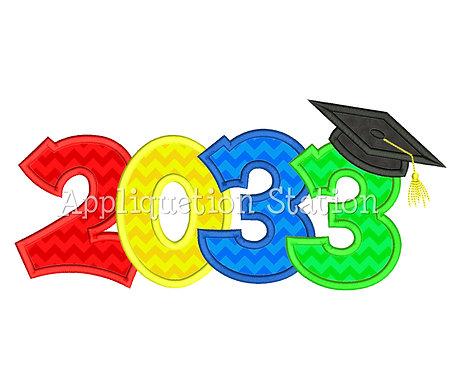 2033 Graduation Cap