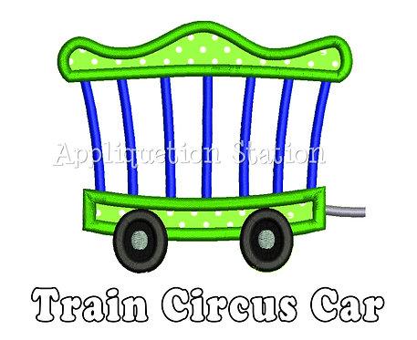Train Circus Car