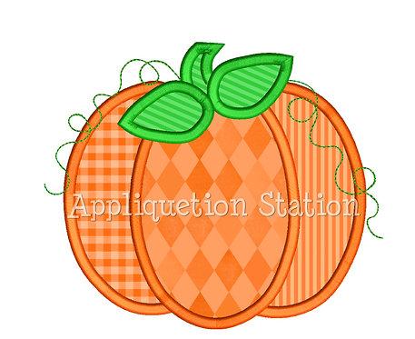 Pumpkin 3 Fabric