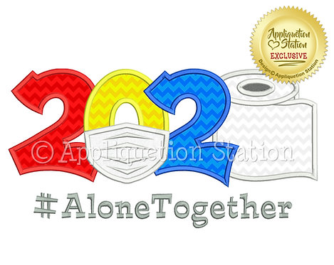 2020 Mask #AloneTogether