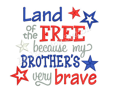 Land of the Free Brother