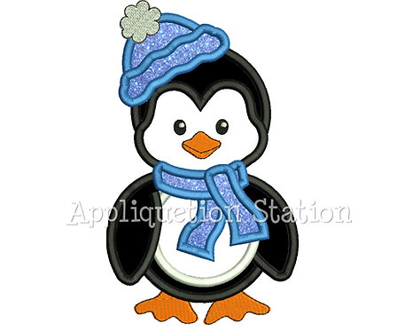 Penguin Boy with Hat