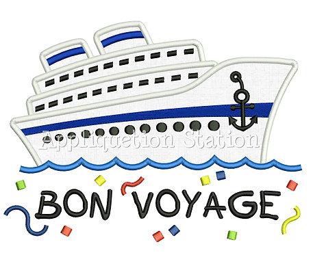 Cruise Ship Bon Voyage