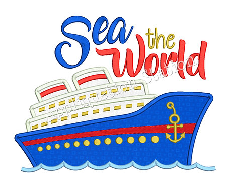 Cruise Ship Sea the World
