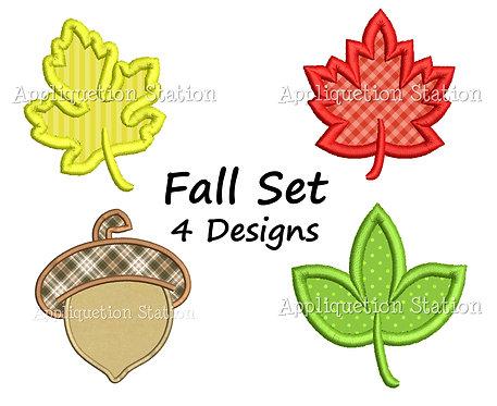 Fall Leaf Set