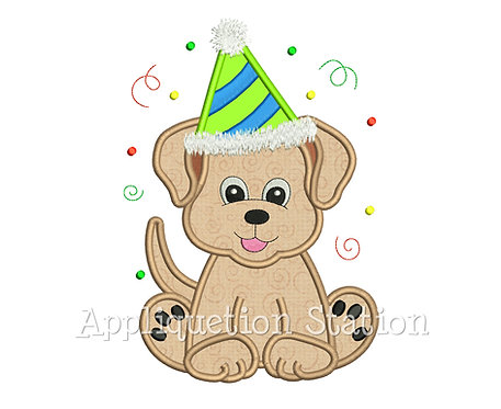 Puppy Dog Party Hat Boy