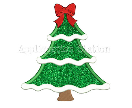 Christmas Tree with Bow
