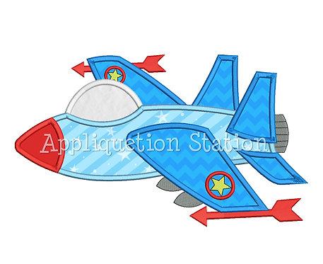 Fighter Plane F-18 Jet