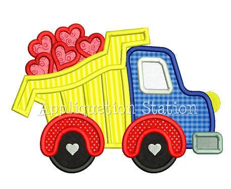Dump Truck full of Hearts
