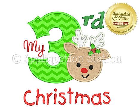 My 3rd Christmas Reindeer