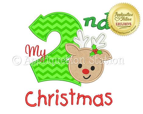 My 2nd Christmas Reindeer