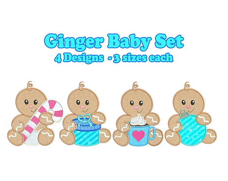 Ginger Baby Christmas Set