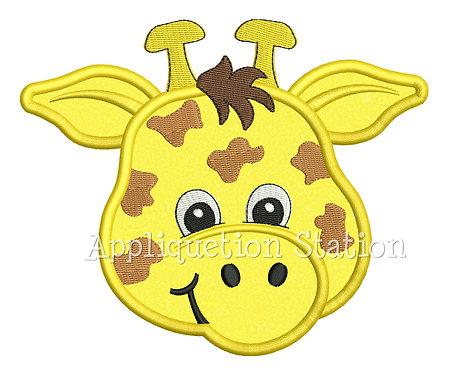 Zoo Baby Giraffe Head
