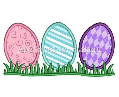 Easter Egg Row