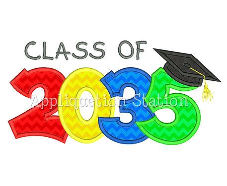 Class of 2035 Graduation Cap