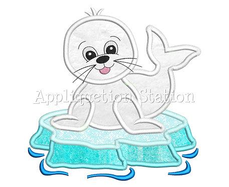 Polar Baby Seal