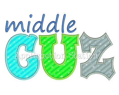 Middle Cuz