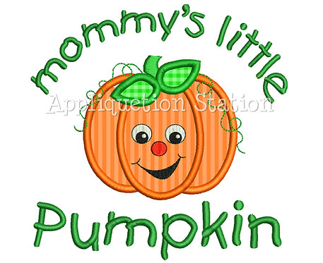 Mommy's Little Smiley Pumpkin