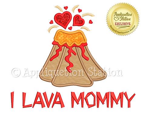 Volcano Erupting Hearts I Lava Mommy