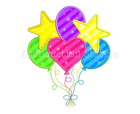 Mixed Balloon Cluster
