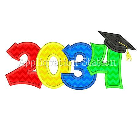 2034 Graduation Cap