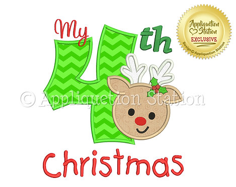 My 4th Christmas Reindeer