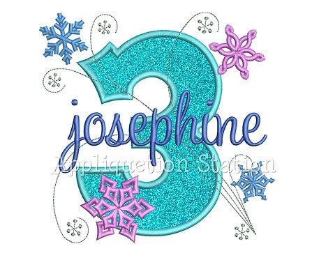 Snowflake Number 3