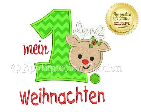 My 1st Christmas German
