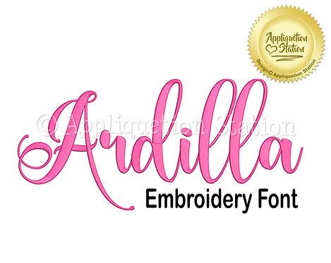 BX Ardilla Script Font