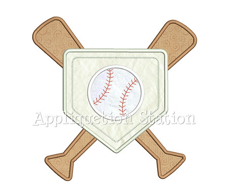Baseball Home Plate Collage