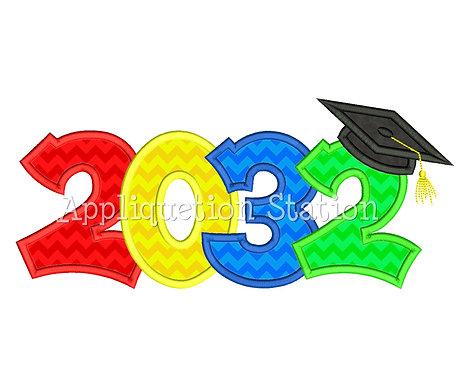 2032 Graduation Cap