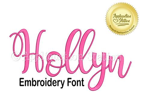 BX Hollyn Script Font