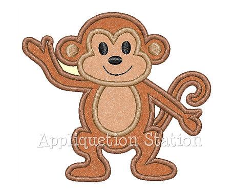 Monkey Waving