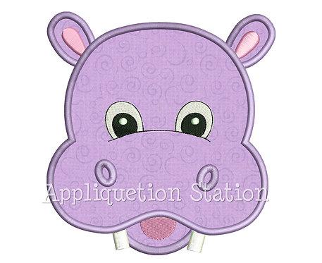 Zoo Baby Hippo Head