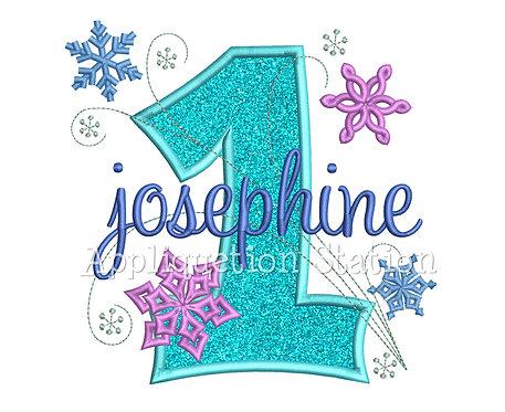 Snowflake Number 1