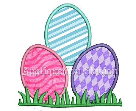 Easter Egg Stack