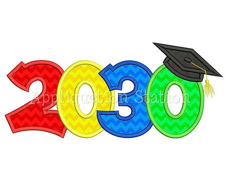 2030 Graduation Cap