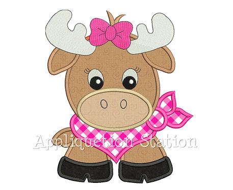 Bandana Baby Girl Moose