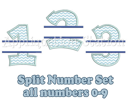 Split Number Set