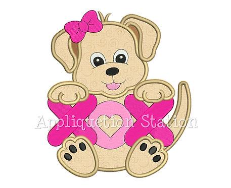 Girl Puppy Dog Love