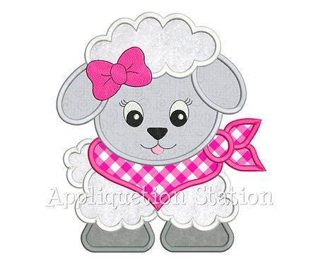 Bandana Baby Girl Sheep