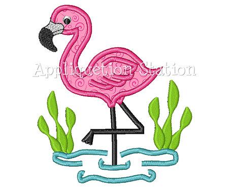 Flamingo Scene