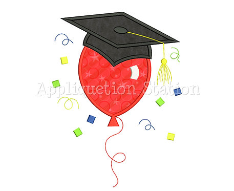 Graduation Balloon with Cap