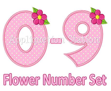 Flower Number Set