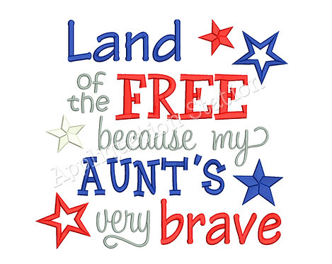 Land of the Free Aunt
