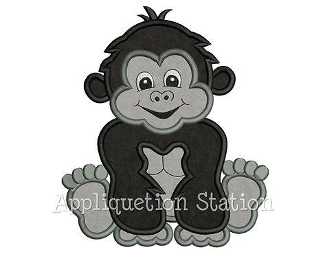 Zoo Baby Gorilla