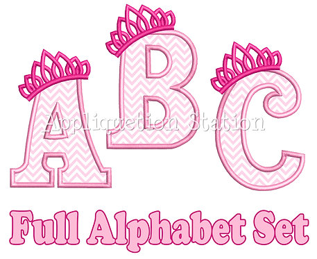Tiara Alphabet