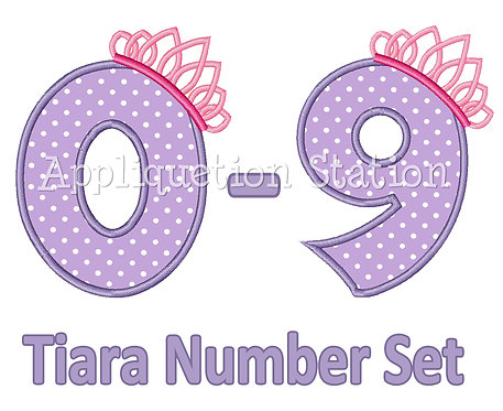 Tiara Number Set